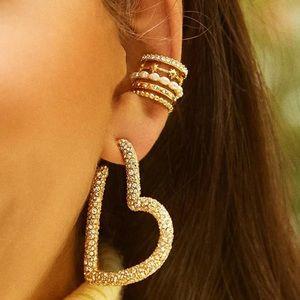⚡2/$20 multi ring ear cuff